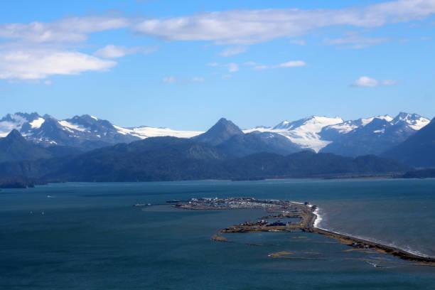 homer-alaska - alaska us state stock photos and pictures