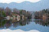 istock Lake Lure in North Carolina 171571752