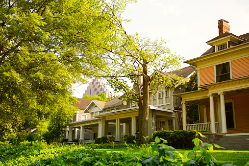 Homes, Atlanta, Georgia.
