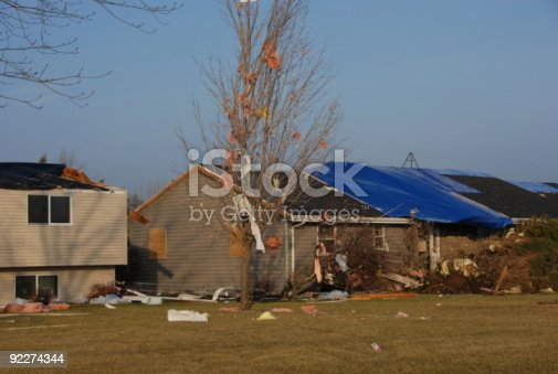 istock Homes Damaged by January Tornado 92274344