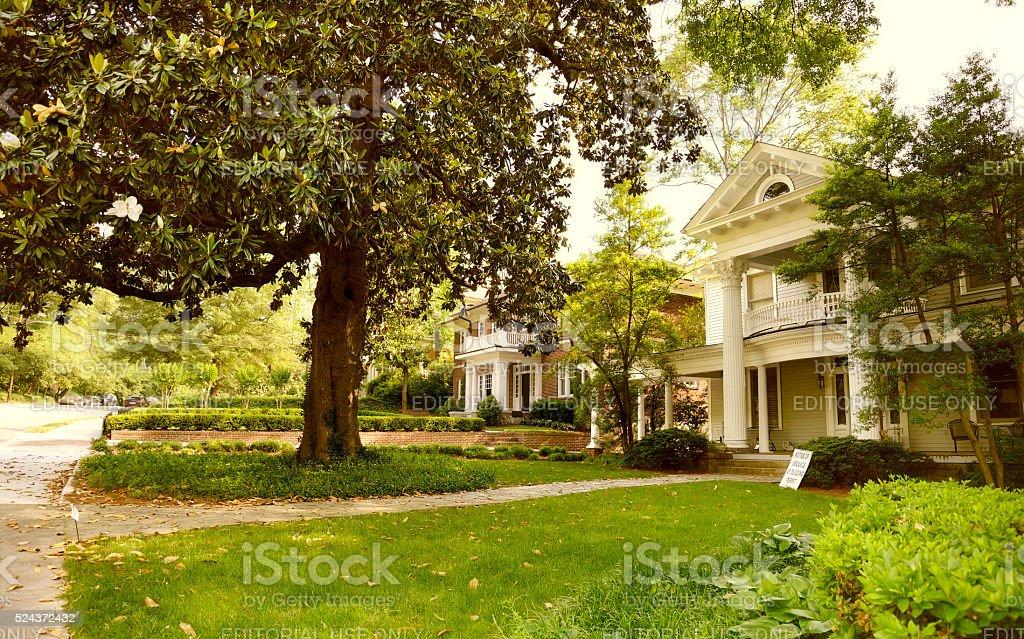 Homes in Atlanta, Georgia, USA stock photo