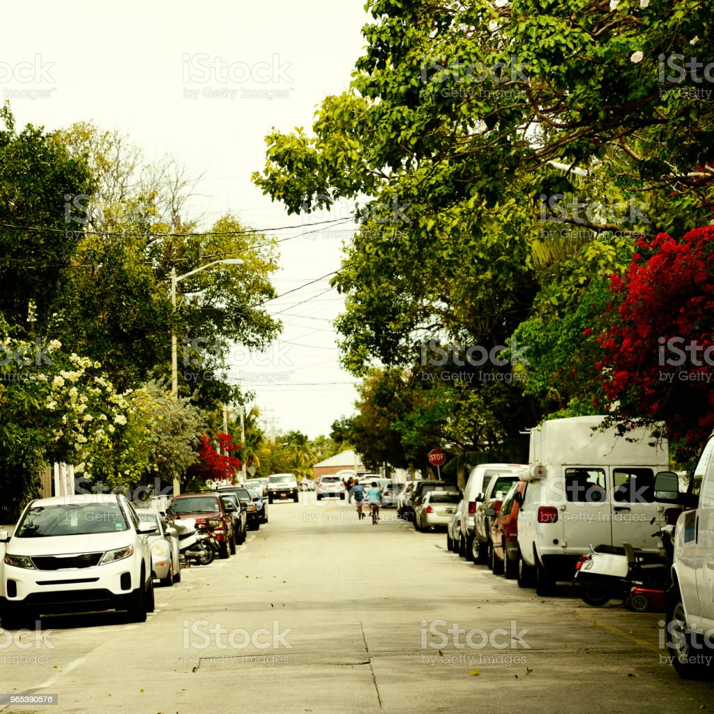 Homes in Key West, Florida. royalty-free stock photo