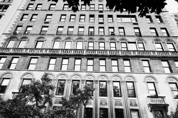 Häuser, Manhattan, NYC. Stay Home Konzept. – Foto