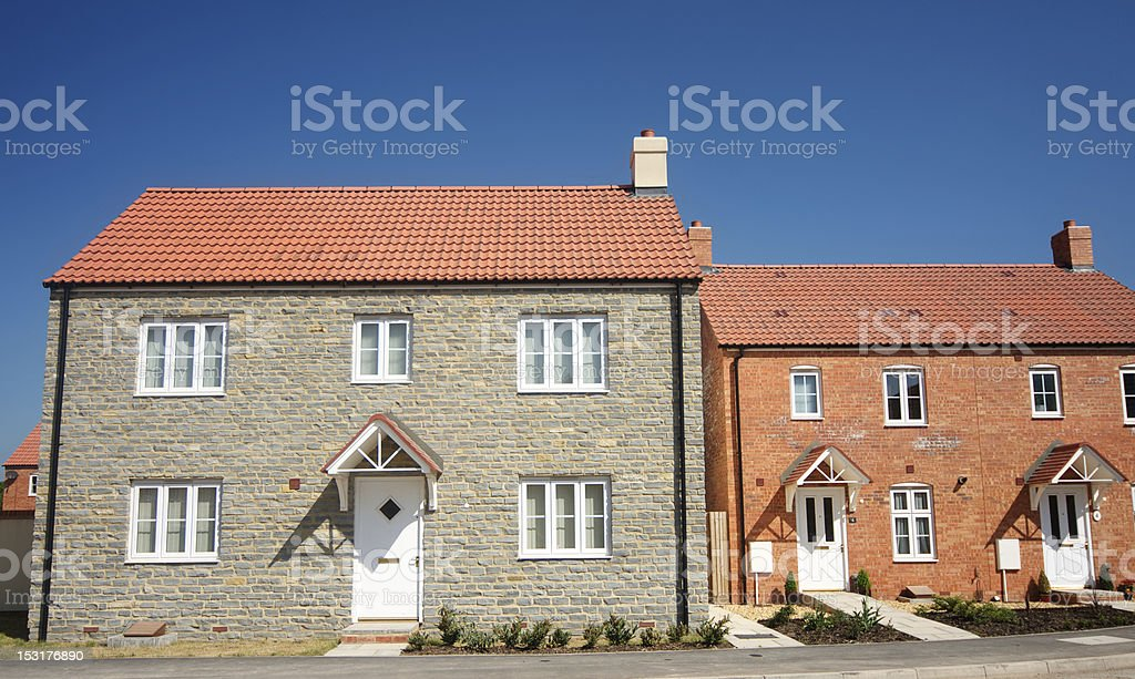 Homes royalty-free stock photo