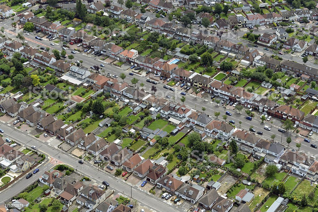 Homes stock photo