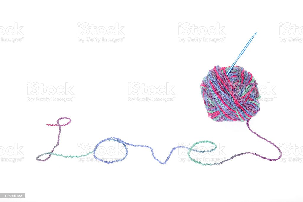 Homespun Love stock photo