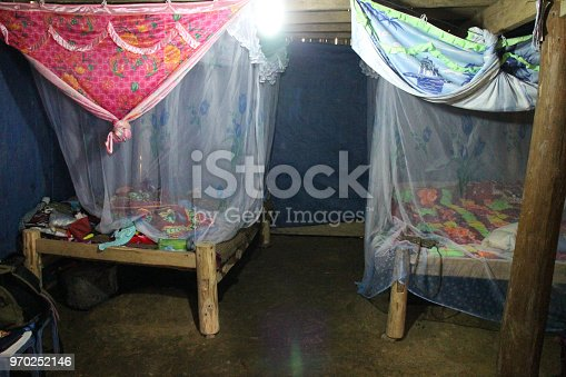 Our room in the homestay with the Hmong family