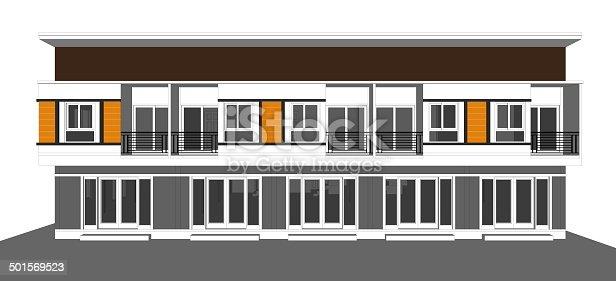 istock Hometown Sketch 501569523