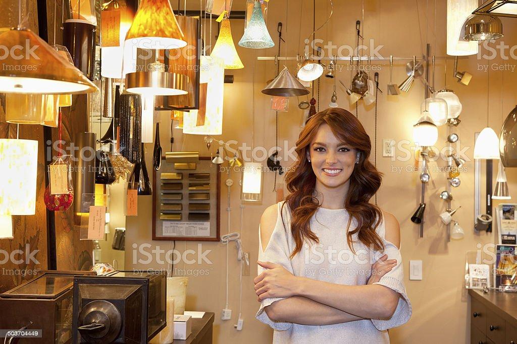 Homeware store stock photo