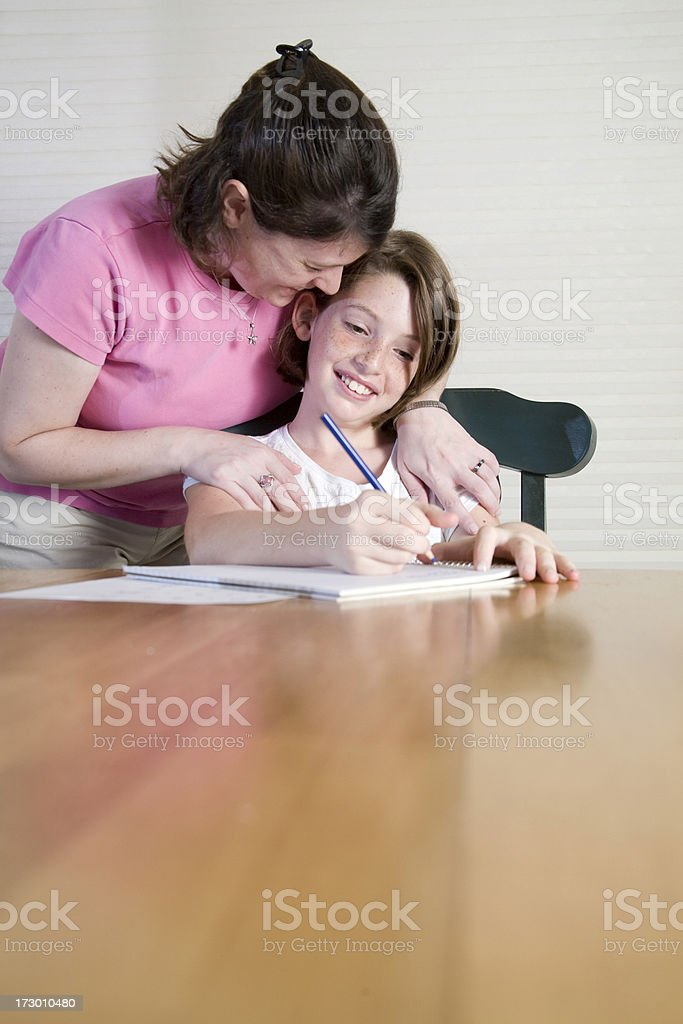 Homework Help royalty-free stock photo