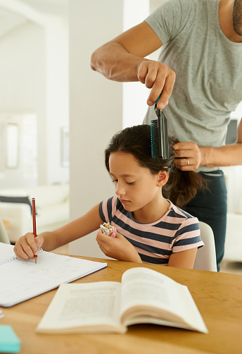 istock Homework is part of our daily routine 627905538