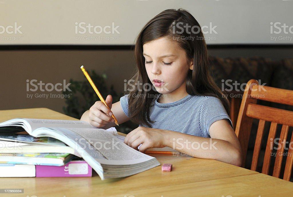 homework stock photo