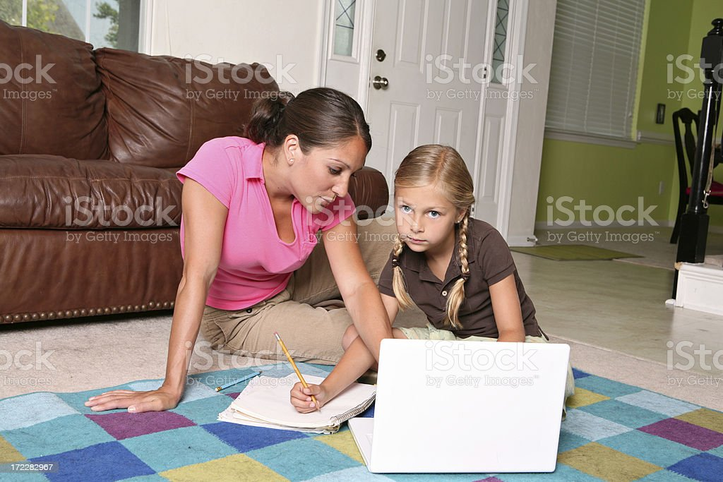 Homework Time royalty-free stock photo