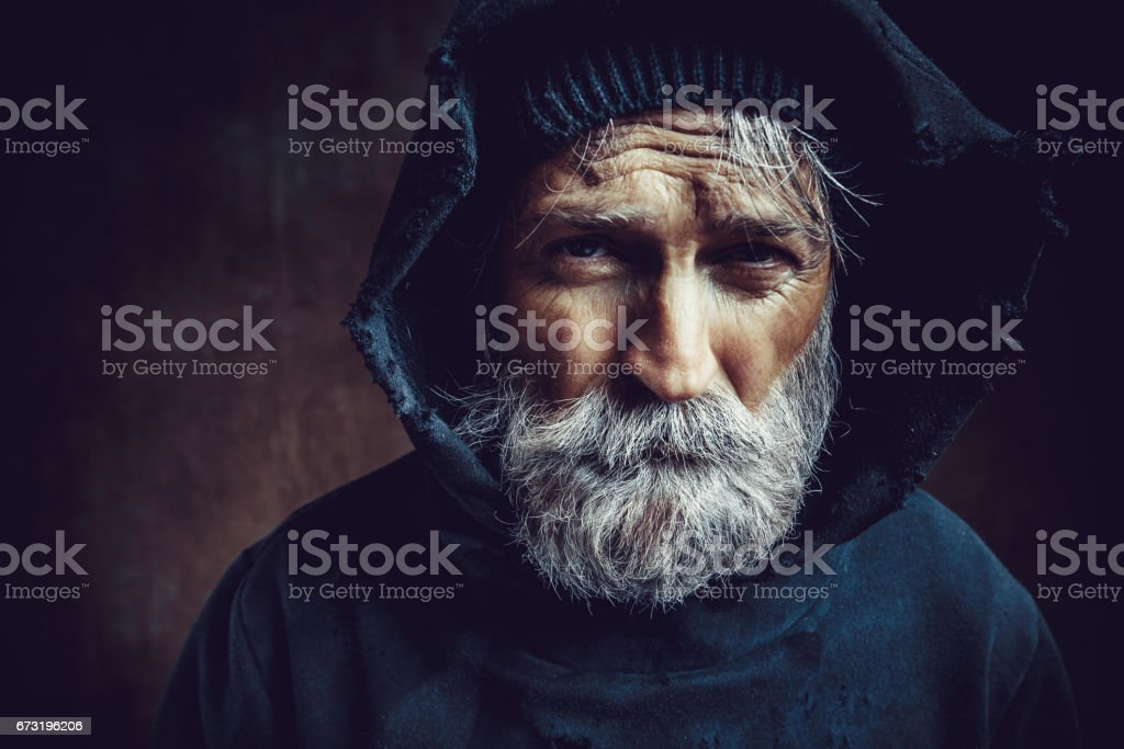 Homlessness stock photo