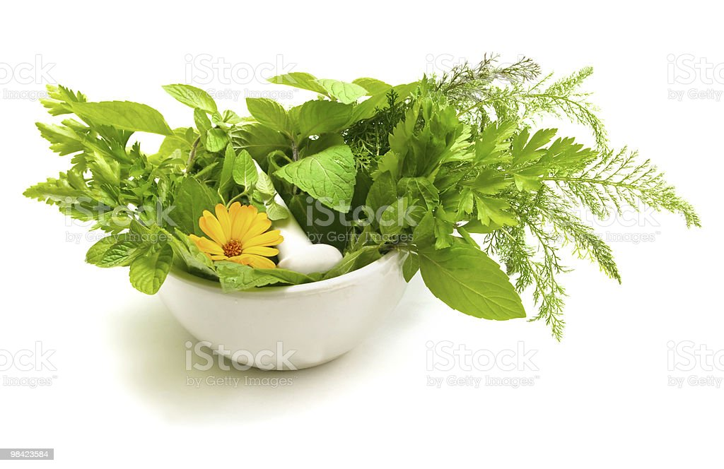 Homoeopathic motives royalty-free stock photo