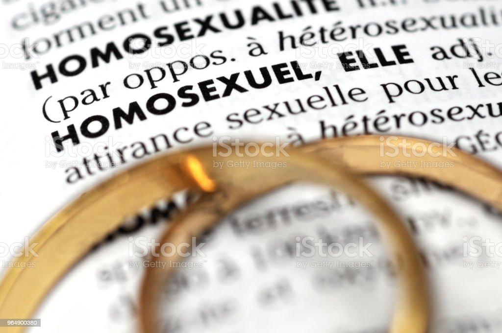 Homosexuel royalty-free stock photo