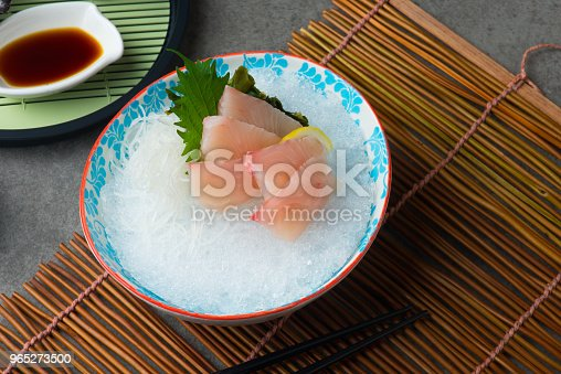 Hon Maguro Ohtoro Fresh Tuna Fatty Belly Sashimi Sushi Stock Photo & More Pictures of Fish