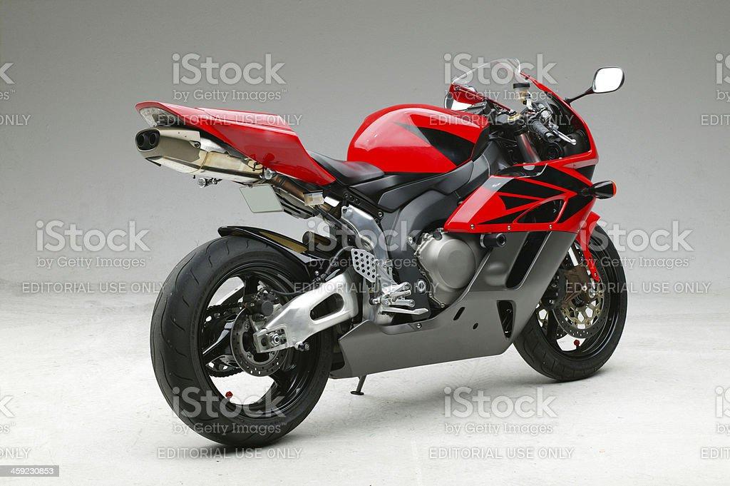 Honda 2004 CBR 1000RR motorcycle profile stock photo