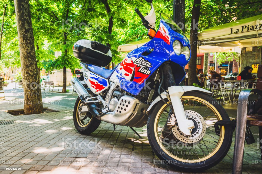 Twin City Honda >> Honda Africa Twin Bike Stock Photo Download Image Now Istock