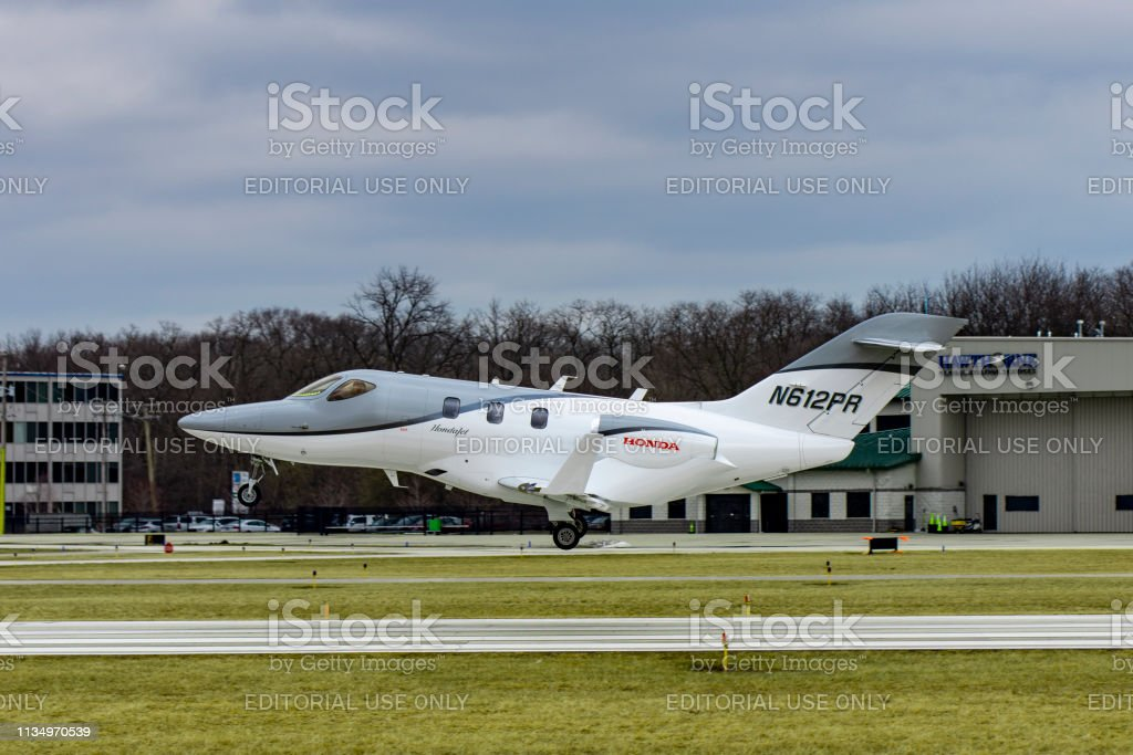 Honda Aircraft HA-420 stock photo