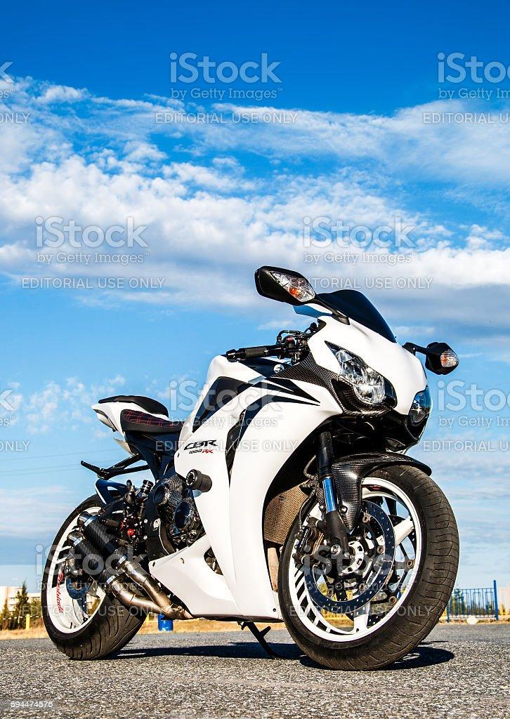Honda CBR-1000RR stock photo