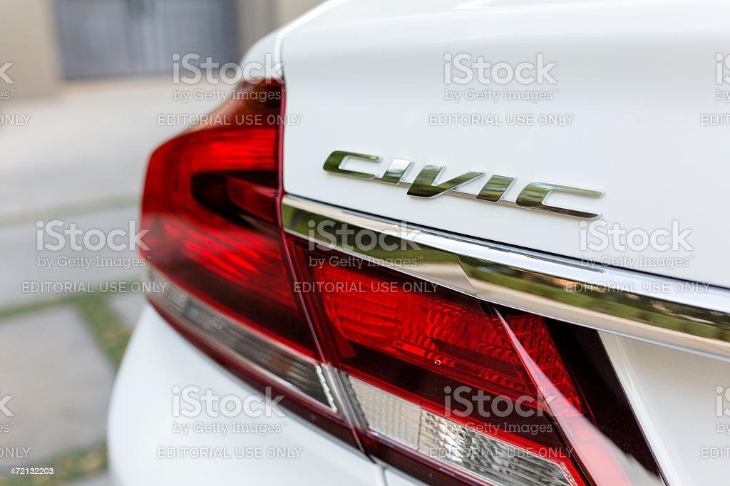 2013 Honda Civic stock photo