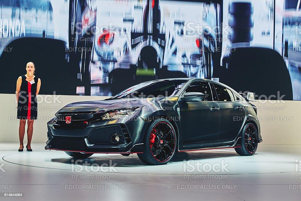2016 Honda Civic Type R Prototype stock photo