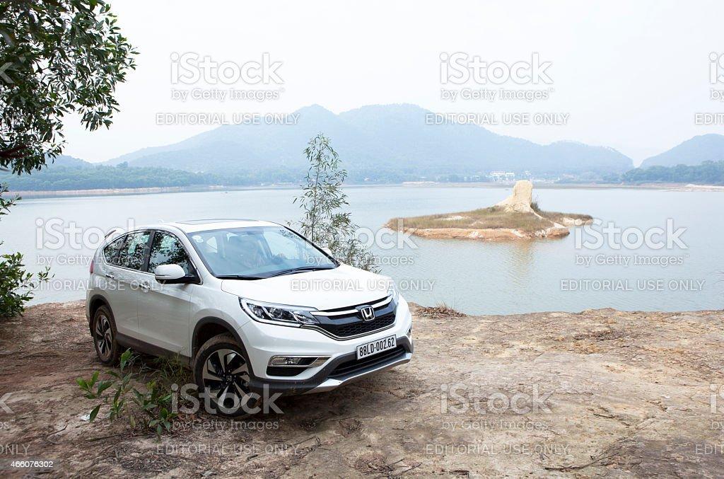 Honda CR-V 2015 car stock photo