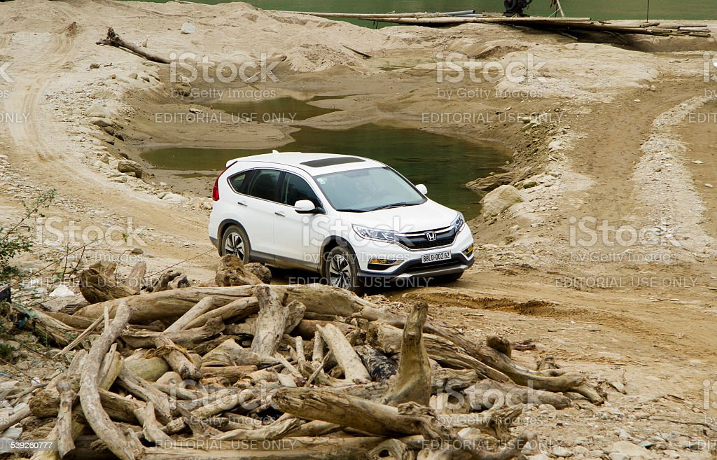 Honda CR-V 2015 stock photo