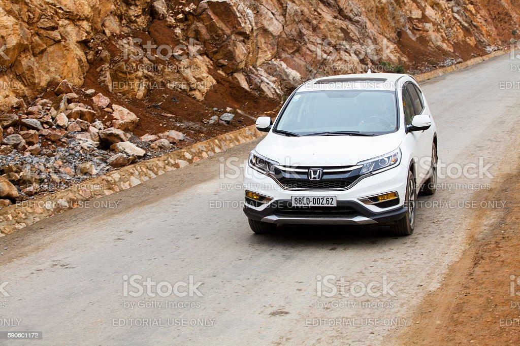 Honda CR-V car stock photo