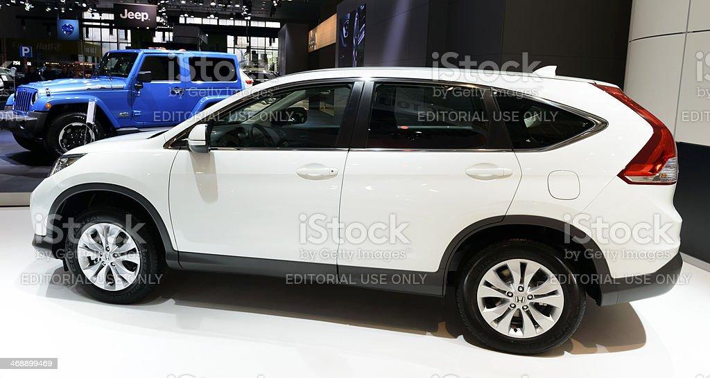 Honda CR-V stock photo