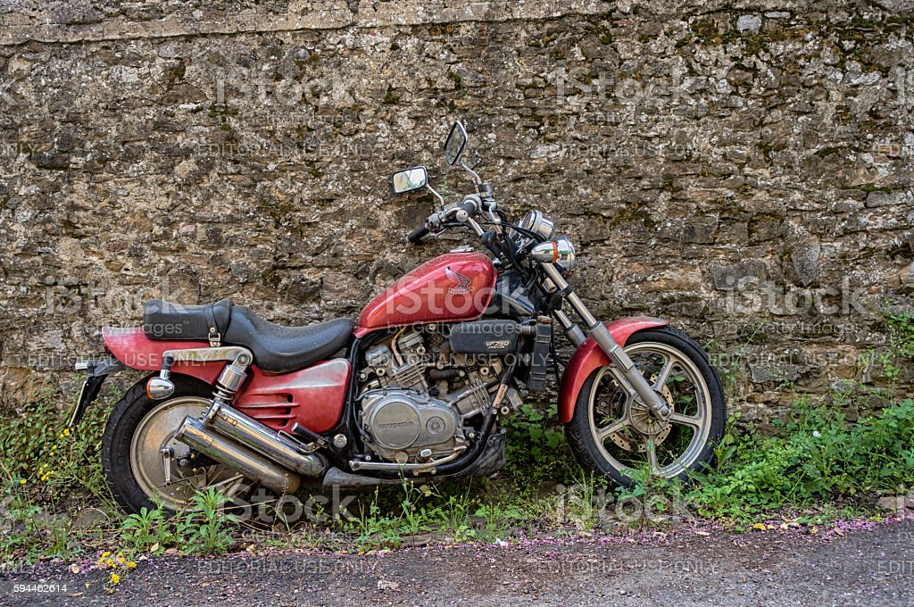 Honda Magna VF 750C Second Generation Royalty Free Stock Photo