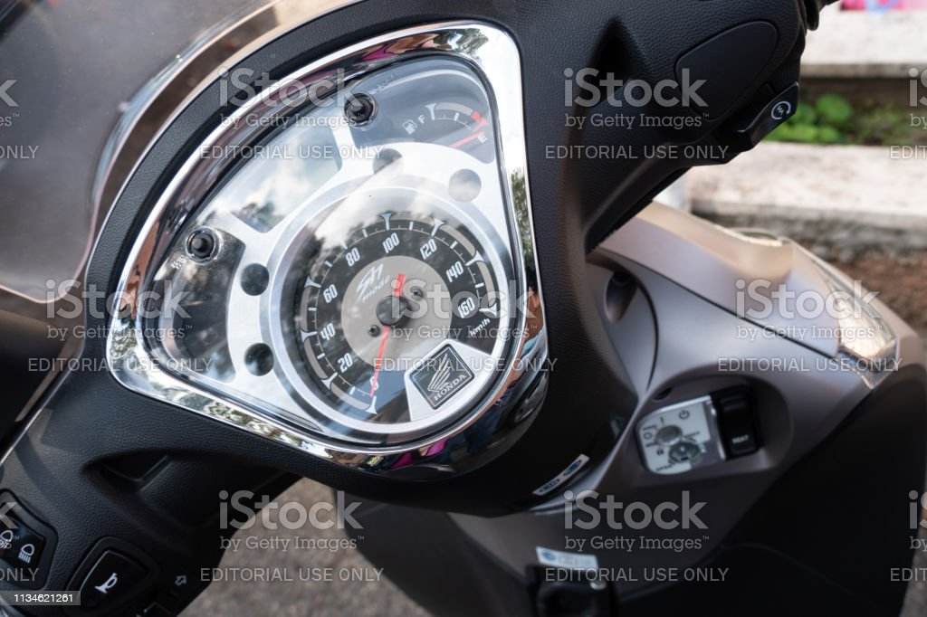 Honda Scooter Dashboard Honda Motor Is A Japanese Multinational Stock Images Page Everypixel