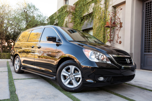 Honda Odyssey 2009 Stock Photo - Download Image Now
