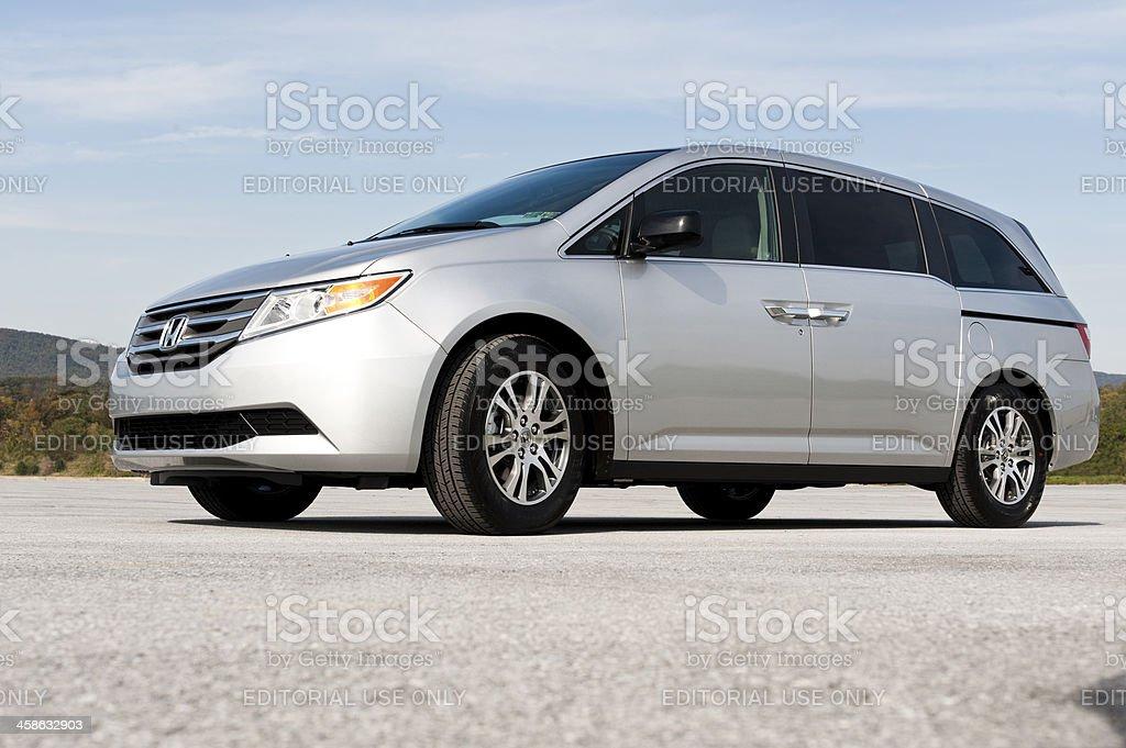Honda Odyssey Minivan royalty-free stock photo
