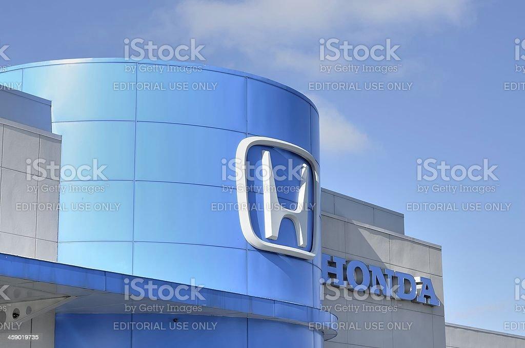Honda royalty-free stock photo
