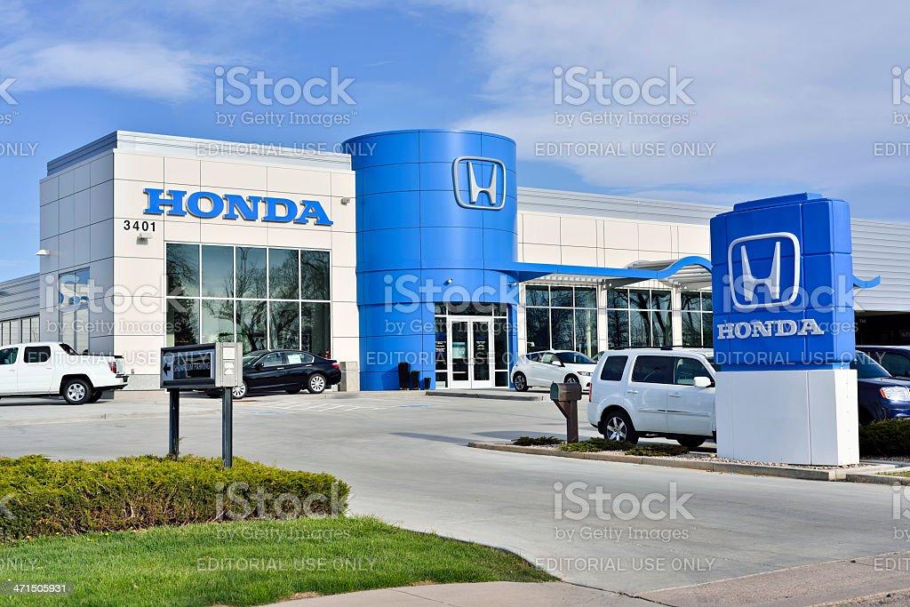 Good Honda Royalty Free Stock Photo