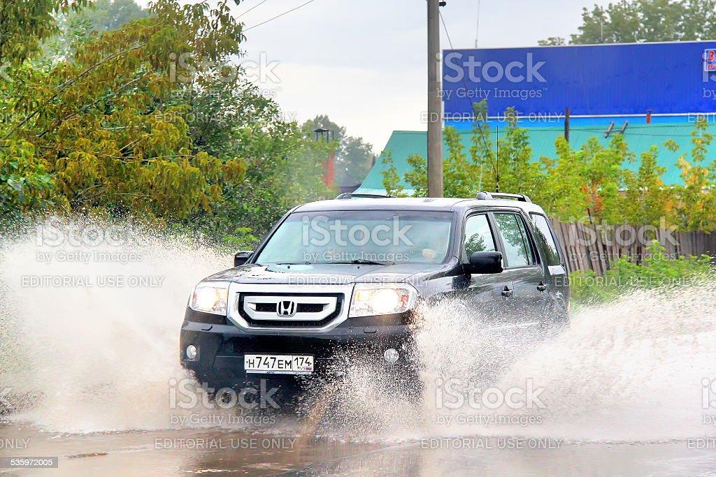Honda Pilot stock photo