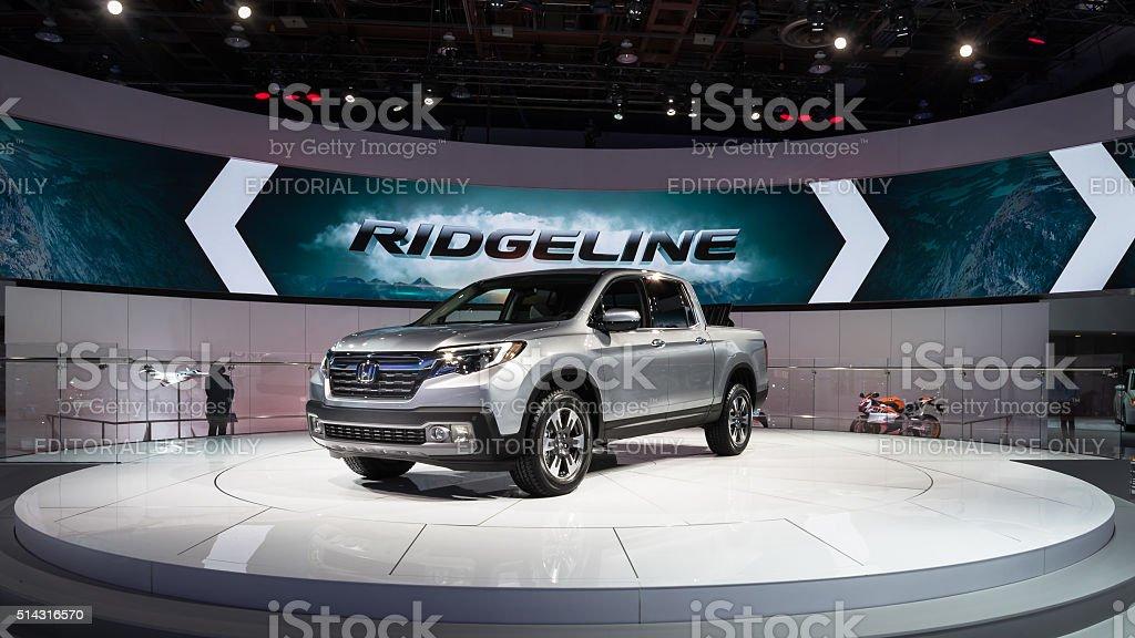 2016 Honda Ridgeline stock photo