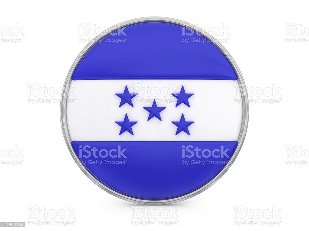 Honduras flag royalty-free stock photo