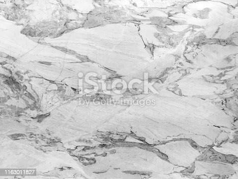 Honed marble texture with strong veining