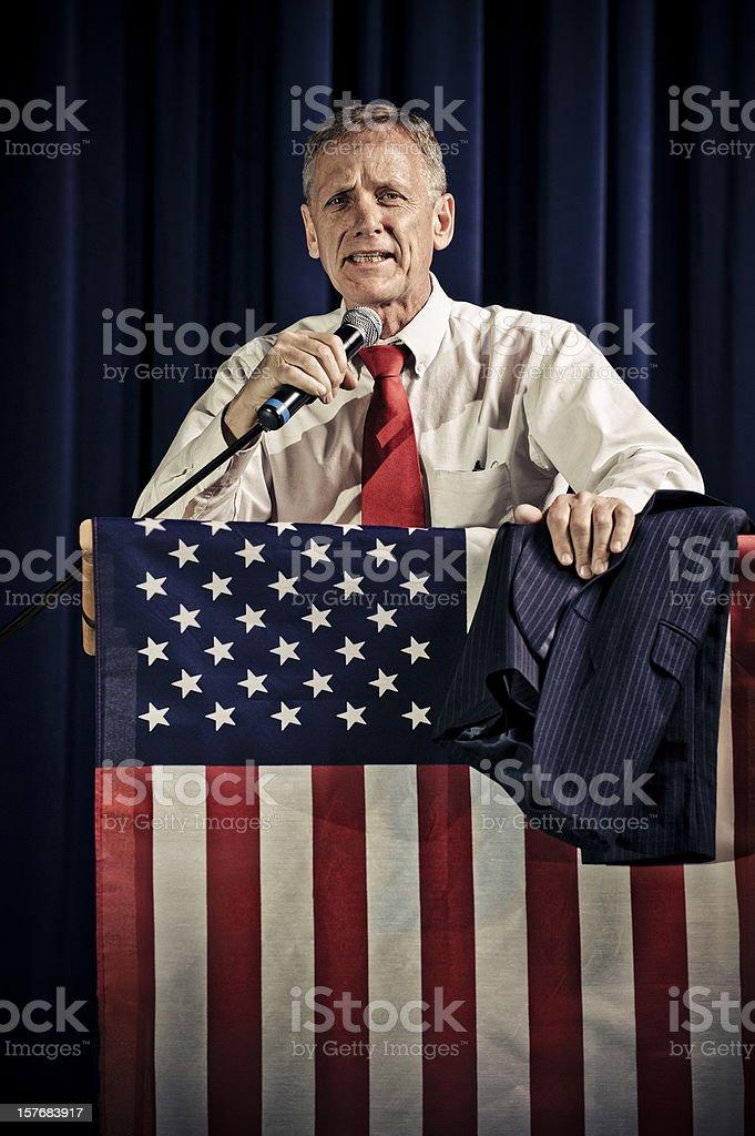 Honest Politician stock photo