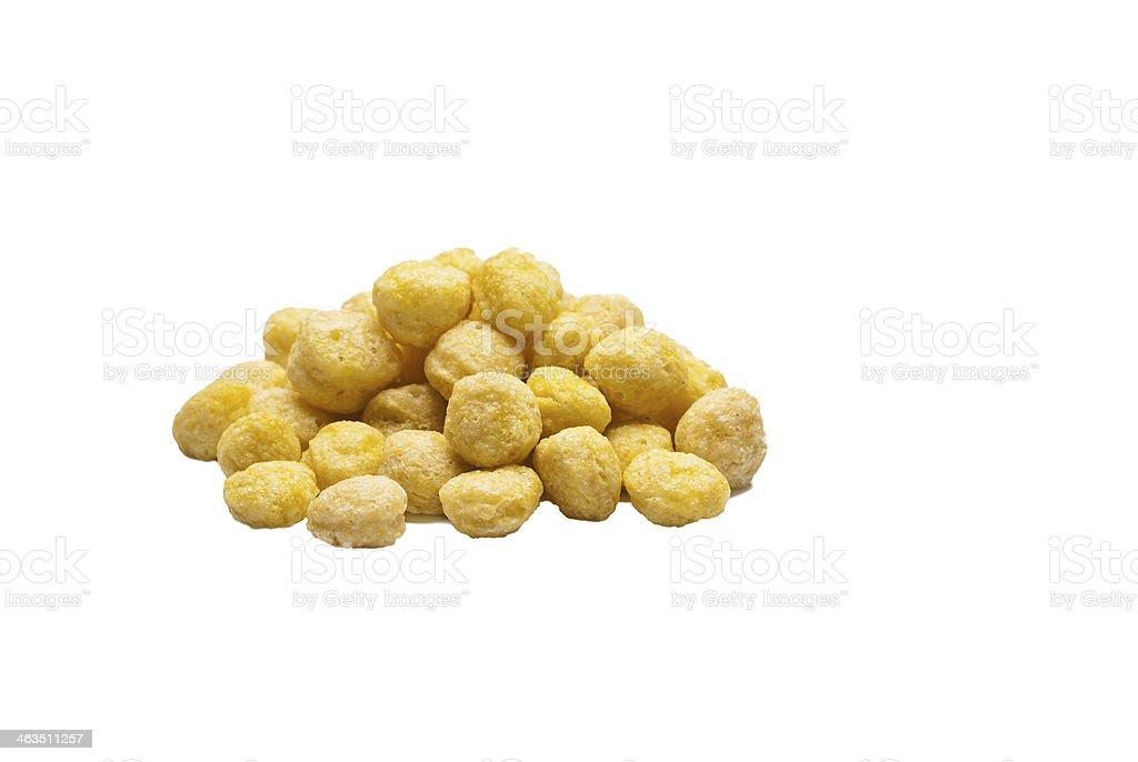 Palla cornflakes miele - foto stock