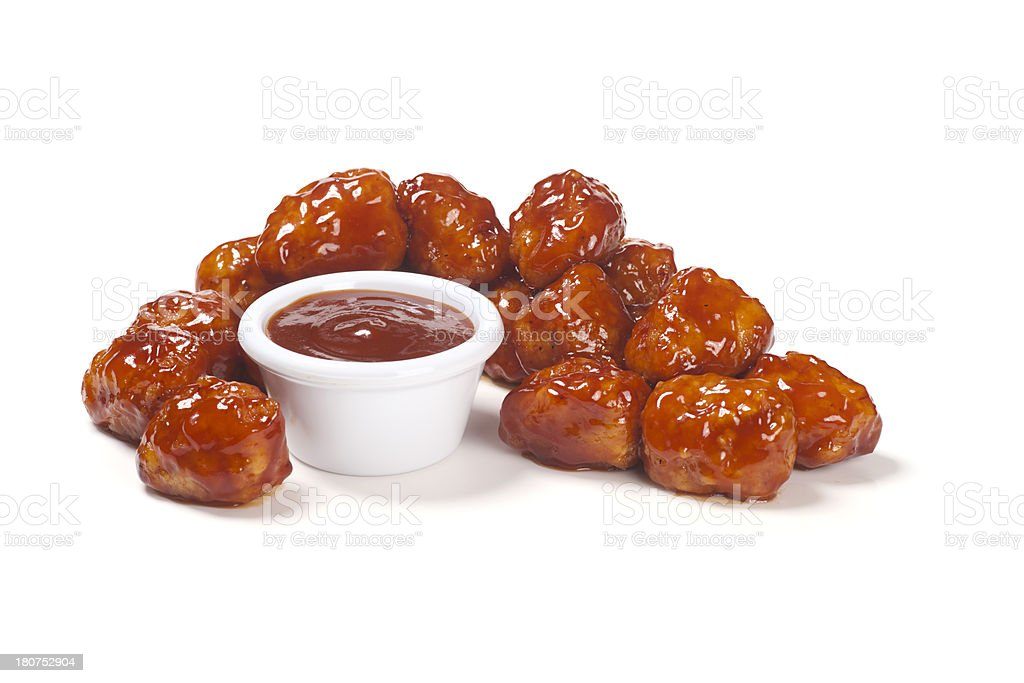 Honey Barbecue zahllosen Wings Lizenzfreies stock-foto
