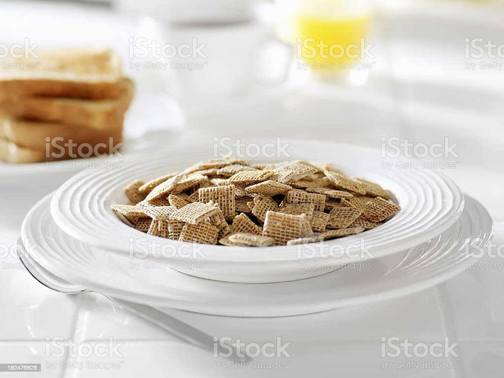 Honey Breakfast Cereal stock photo