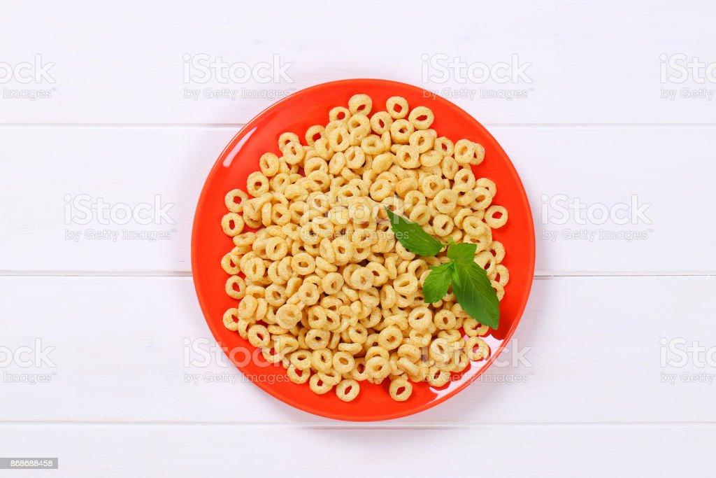 honey cereal rings
