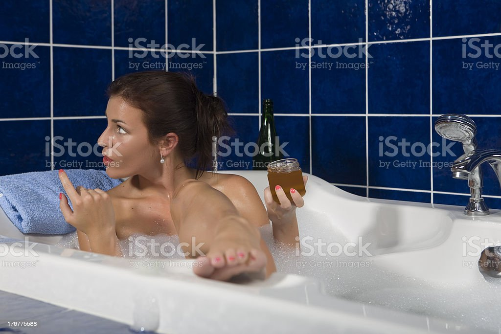 Honey, come here royalty-free stock photo