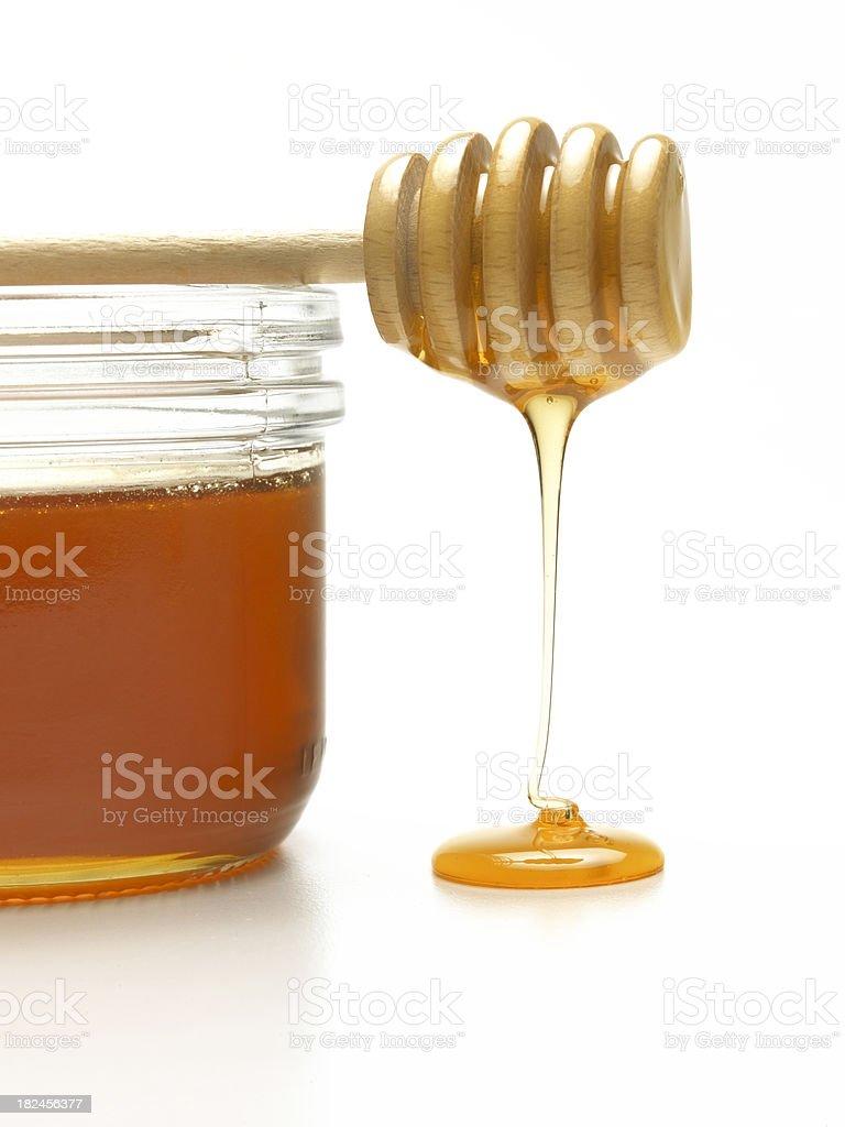 honey drizzle royalty-free stock photo