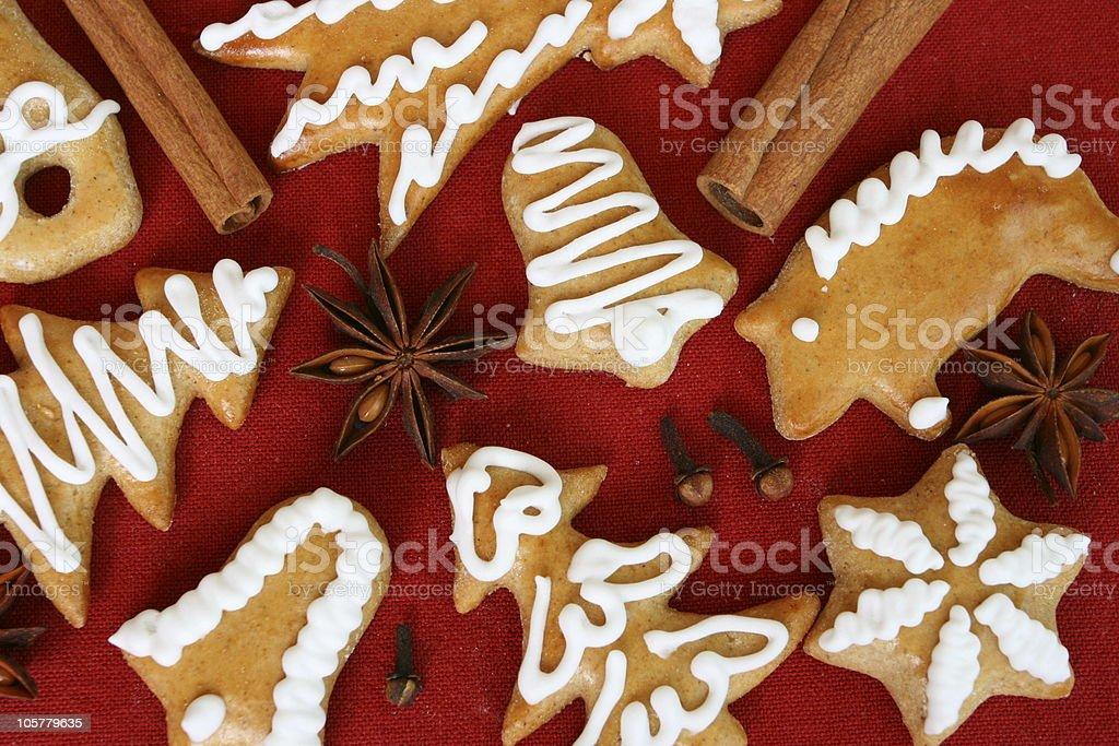 Honey Gingerbread royalty-free stock photo