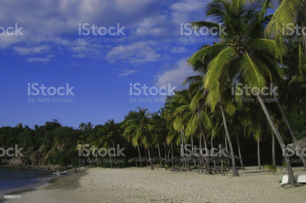 Honey Moon Beach royalty-free stock photo